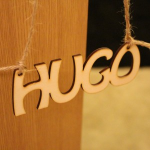 Wooden Letter Door Sign