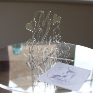 Cake Stand Wedding Name3