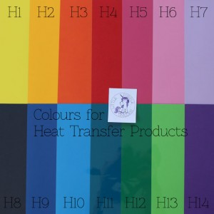 Heat Vinyl Colours 1