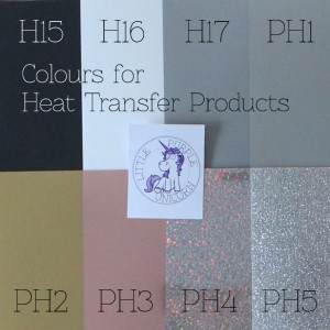 Heat Vinyl Colours 2