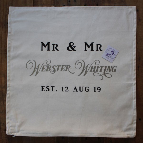 Cushion Cover Example